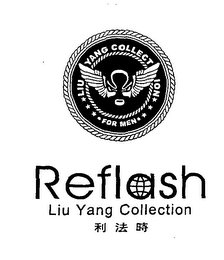 mark for LIU YANG COLLECTION FOR MEN REFLASH LIU YANG COLLECTION, trademark #76572410