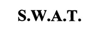 mark for S.W.A.T., trademark #76572658
