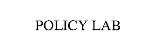mark for POLICY LAB, trademark #76574122