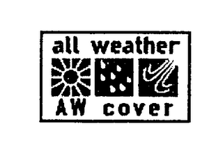 mark for ALL WEATHER AW COVER, trademark #76575431