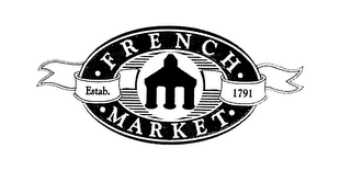 "mark for ""FRENCH MARKET ESTAB. 1791"", trademark #76581669"
