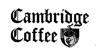 mark for CAMBRIDGE COFFEE, trademark #76581972