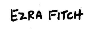 mark for EZRA FITCH, trademark #76582655