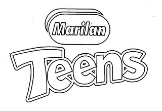 mark for MARILAN TEENS, trademark #76583275