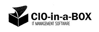 mark for CIO-IN-A-BOX IT MANAGEMENT SOFTWARE, trademark #76584053