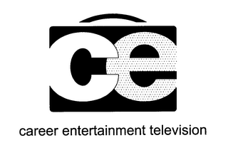mark for CE CAREER ENTERTAINMENT TELEVISION, trademark #76585978