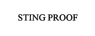 mark for STING PROOF, trademark #76587241