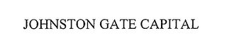 mark for JOHNSTON GATE CAPITAL, trademark #76588402