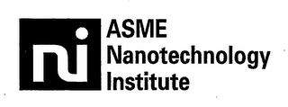 mark for NI ASME NANOTECHNOLOGY INSTITUTE, trademark #76588462