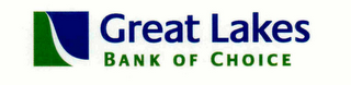 mark for GREAT LAKES BANK OF CHOICE, trademark #76589211