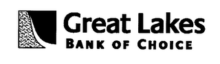 mark for GREAT LAKES BANK OF CHOICE, trademark #76589232