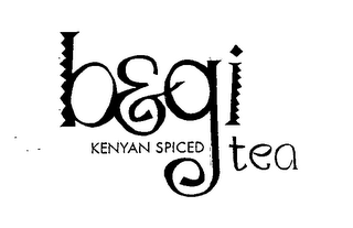 mark for B&GI KENYAN SPICED TEA, trademark #76589348