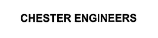 mark for CHESTER ENGINEERS, trademark #76591624