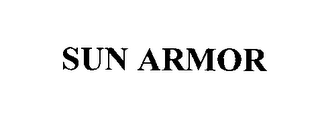 mark for SUN ARMOR, trademark #76592307