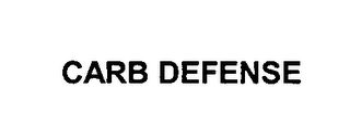 mark for CARB DEFENSE, trademark #76594577