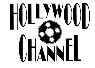 mark for HOLLYWOOD CHANNEL, trademark #76595059