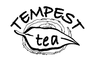 mark for TEMPEST TEA, trademark #76599116