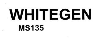 mark for WHITEGEN MS135, trademark #76599639
