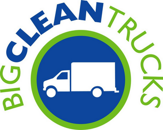 mark for BIG CLEAN TRUCKS, trademark #76600182