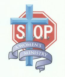mark for STOP A WOMEN'S MINISTRY, trademark #76600735