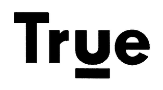 mark for TRUE, trademark #76601500