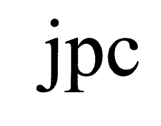 mark for JPC, trademark #76602647