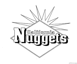 mark for CALIFORNIA NUGGETS, trademark #76604931