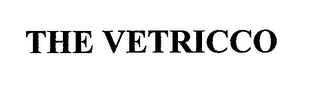 mark for THE VETRICCO, trademark #76611553