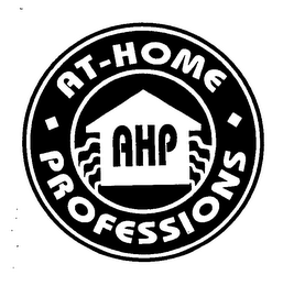 mark for AT-HOME PROFESSIONS AHP, trademark #76613983