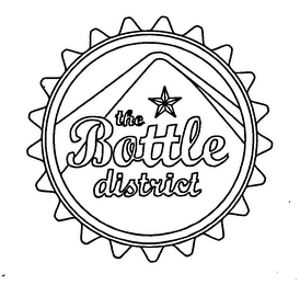 mark for THE BOTTLE DISTRICT, trademark #76614694