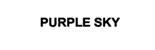 mark for PURPLE SKY, trademark #76614834
