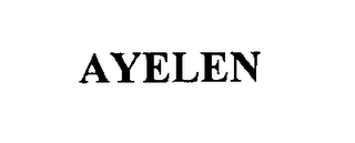 mark for AYELEN, trademark #76615617