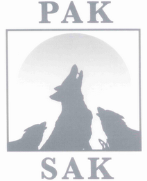 mark for PAK SAK, trademark #76615751