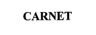 mark for CARNET, trademark #76615787