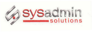mark for S SYSADMIN SOLUTIONS, trademark #76615938