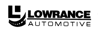 mark for L LOWRANCE AUTOMOTIVE, trademark #76616010