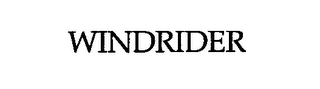 mark for WINDRIDER, trademark #76617184
