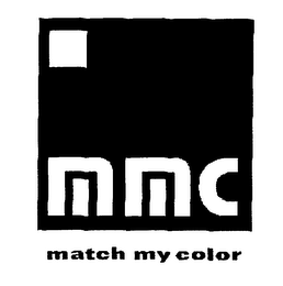 mark for MMC MATCH MY COLOR, trademark #76617249