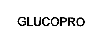 mark for GLUCOPRO, trademark #76618609