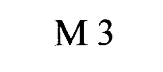 mark for M 3, trademark #76618767