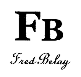 mark for FB FRED BELAY, trademark #76618945