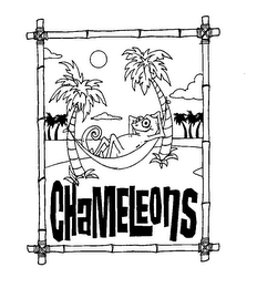 mark for CHAMELEONS, trademark #76619276