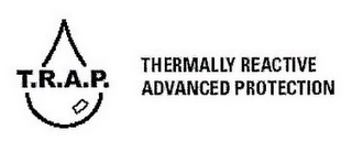 mark for T.R.A.P. THERMALLY REACTIVE ADVANCED PROTECTION, trademark #76619293
