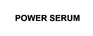 mark for POWER SERUM, trademark #76619526