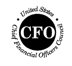 mark for CFO UNITED STATES CHIEF FINANCIAL OFFICERS COUNCIL, trademark #76619858