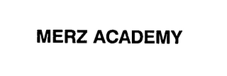 mark for MERZ ACADEMY, trademark #76620752