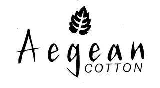 mark for AEGEAN COTTON, trademark #76621268