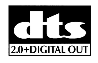 mark for DTS 2.0+DIGITAL OUT, trademark #76624006