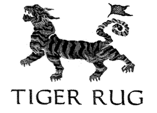 mark for TIGER RUG, trademark #76624024