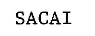 mark for SACAI, trademark #76624025